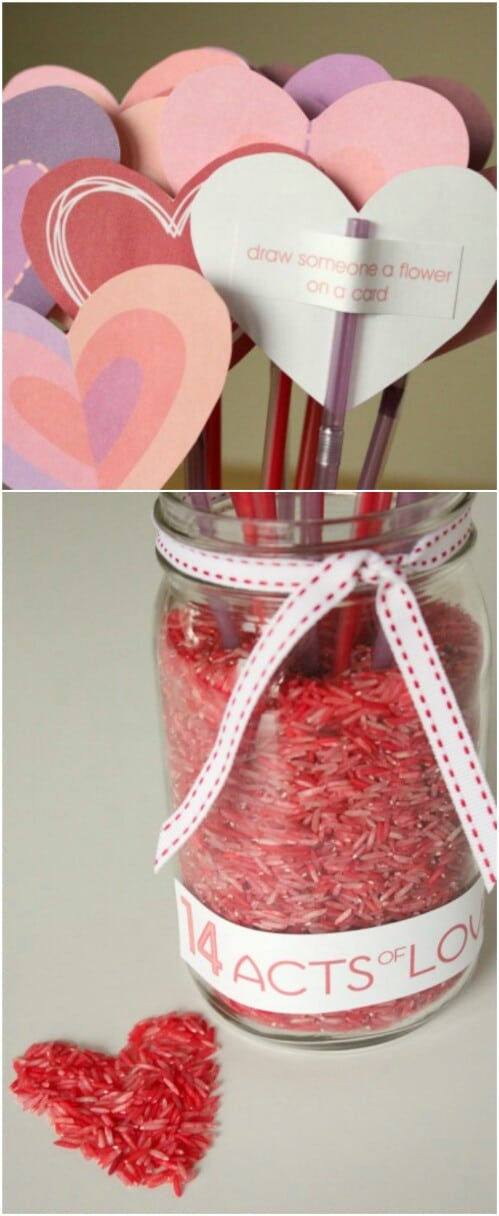 Valentine's Day Countdown - 20 Adorable And Easy DIY Valentine's Day Projects For Kids