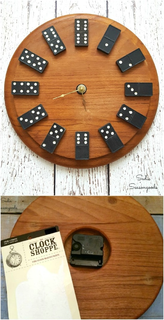 DIY Dominoes Clock