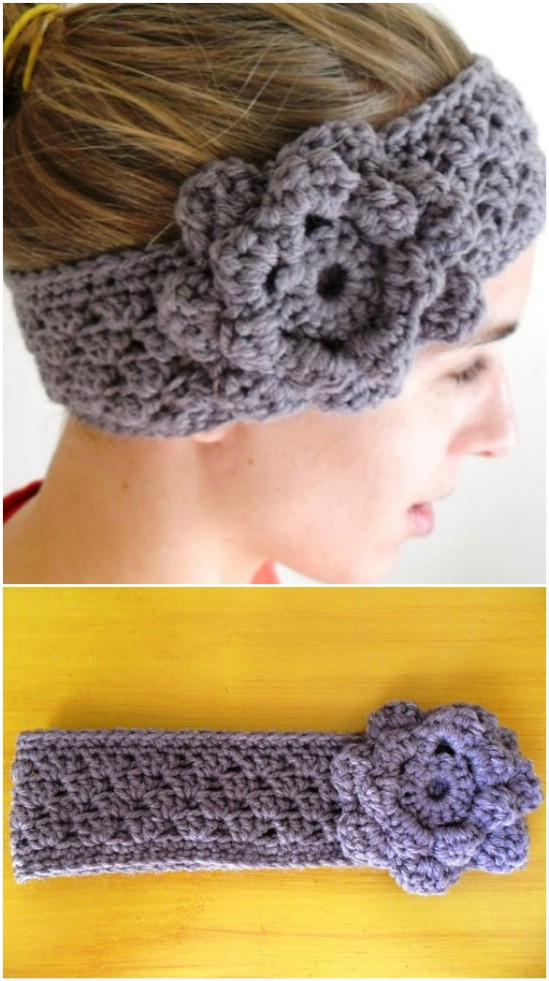 Easy Crocheted Ear Warmers