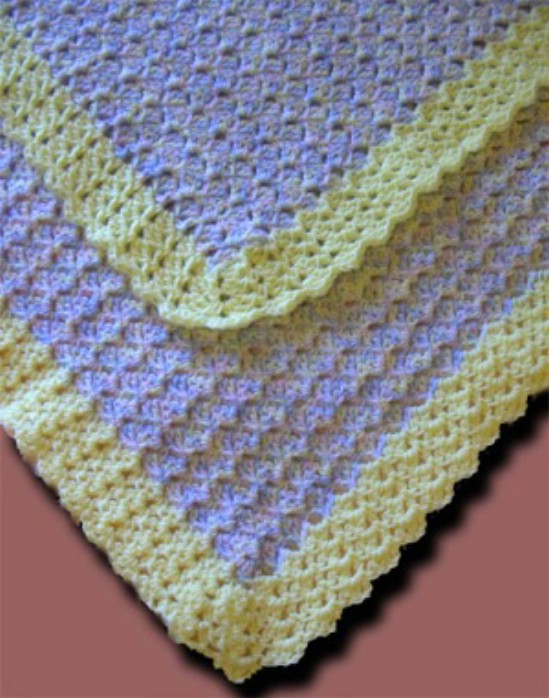 Sideways Shell Blanket