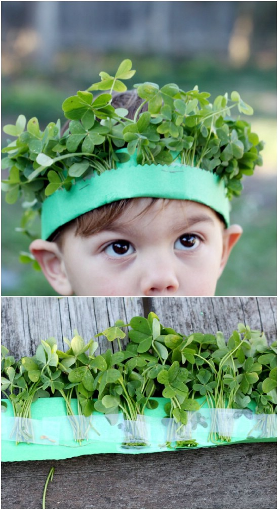 Lucky Crown Of Clover