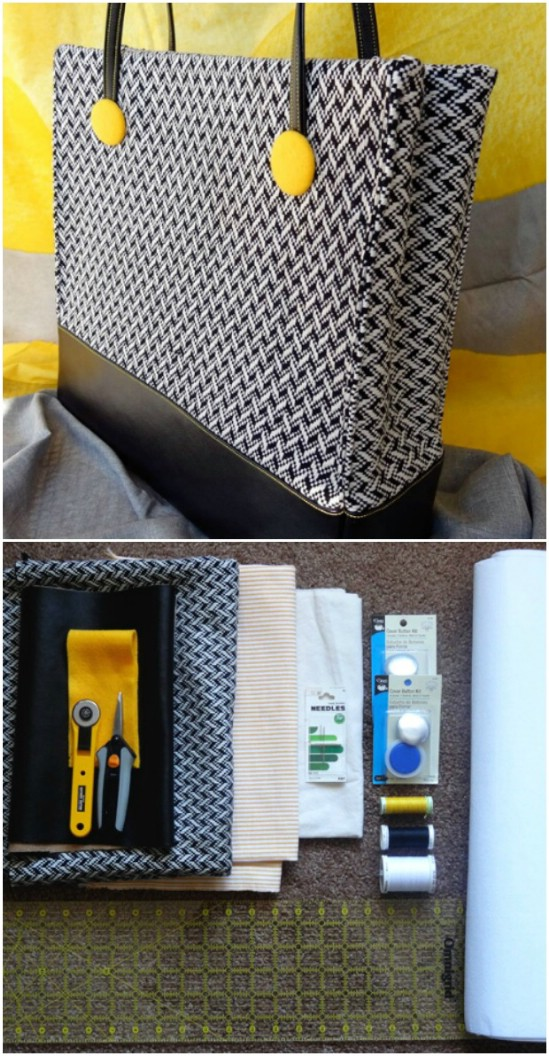 Gorgeous DIY Lined Handbag