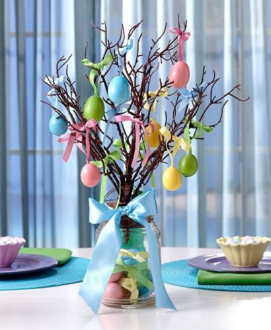 Easter Tree Planter