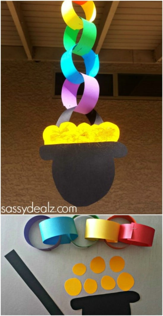 45 Fantastically Fun St Patrick S Day Crafts For Kids Diy Crafts