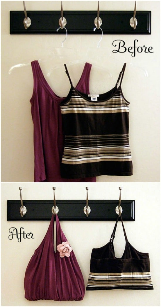 Easy DIY Tank Top Tote
