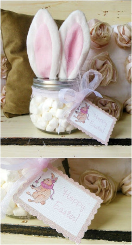 Easter Bunny Jar Treat