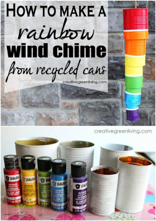 Rainbow Wind Chime