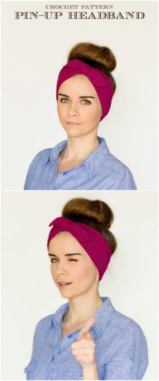 Pin Up Headband Pattern