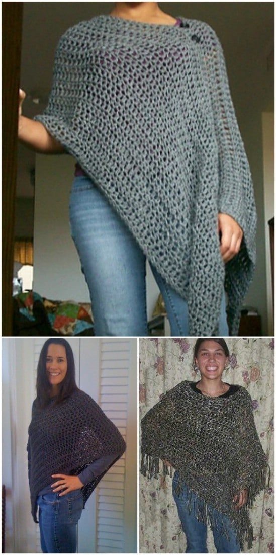 Easy Customizable Poncho