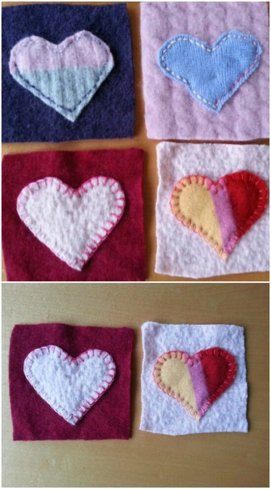 DIY Coasters - 50 Amazingly Creative Upcycling Projects For Old Sweaters