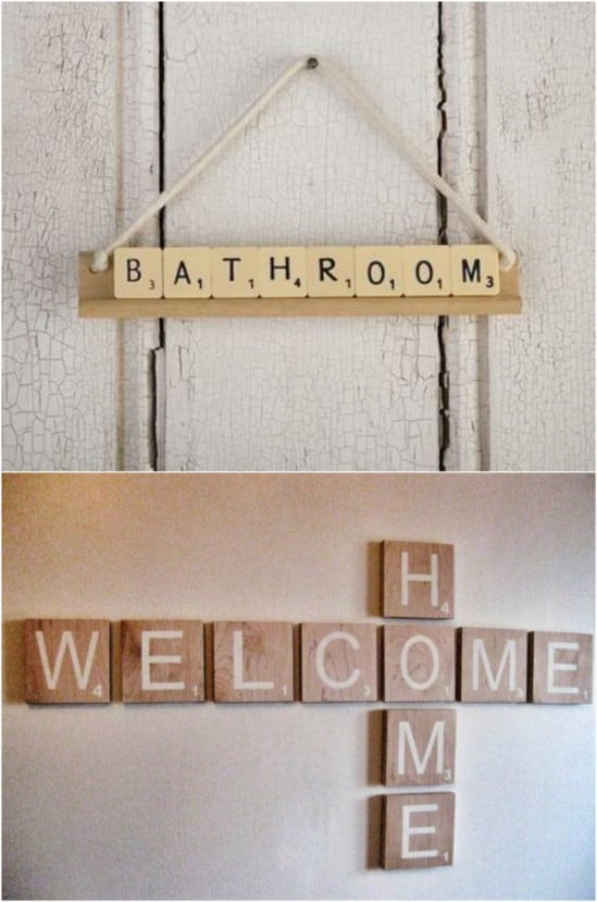 Scrabble Signs