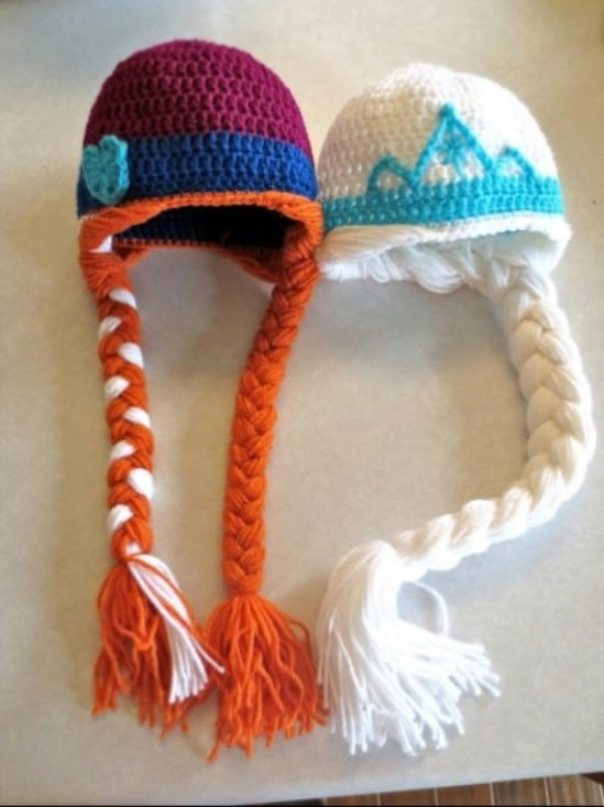 Easy Frozen Inspired Elsa Hat