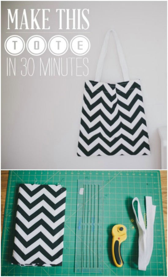 Easy Half Hour Tote Bag
