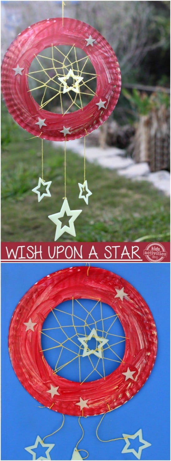 Awesome Glowing Dream Catcher - 25 Amazingly Fun Glow In The Dark DIY Projects For Kids