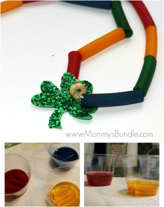 Easy DIY Rainbow Necklace