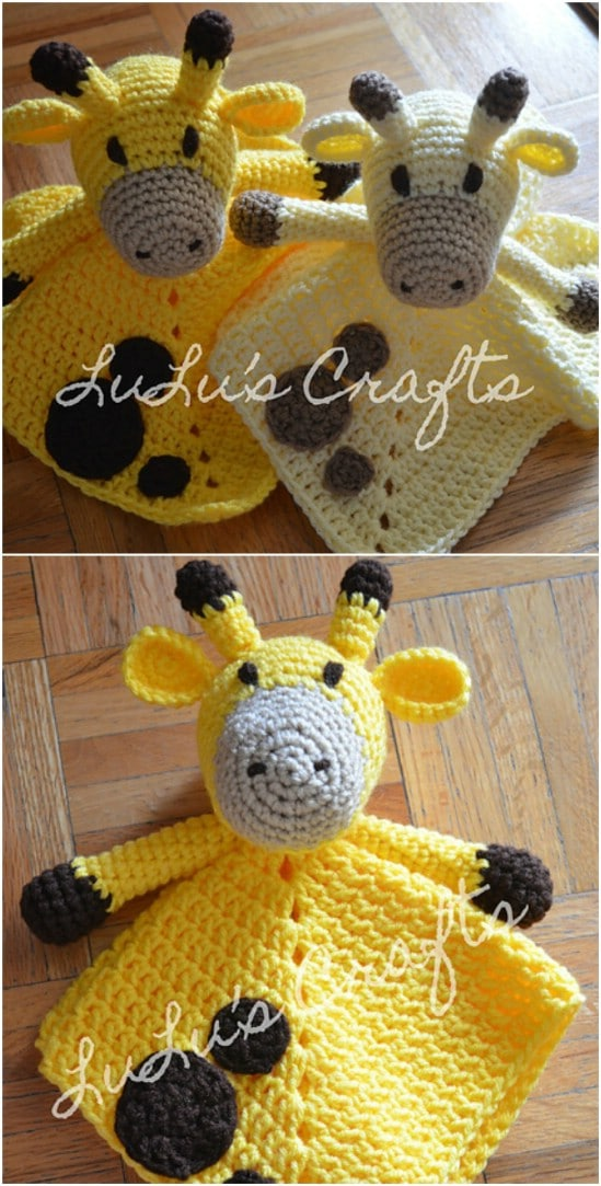 Adorable Crochet Giraffe