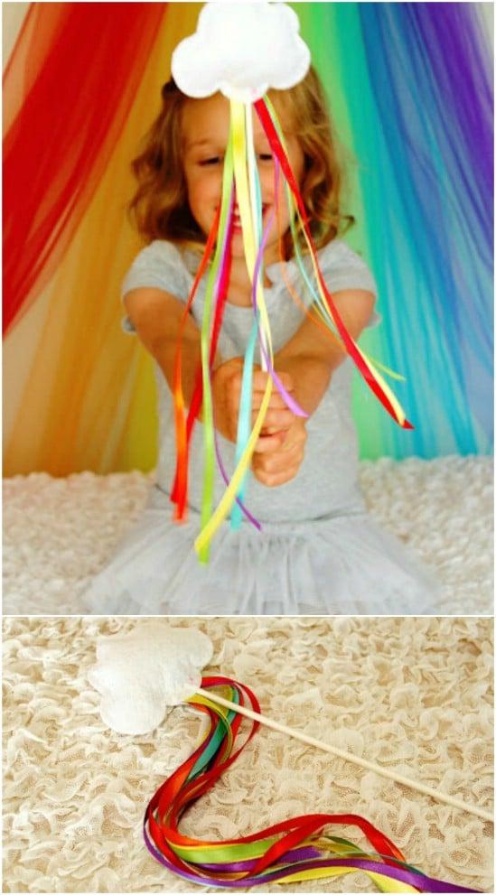 Magical Rainbow Wands
