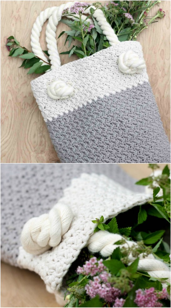 Suzette Crocheted Bag