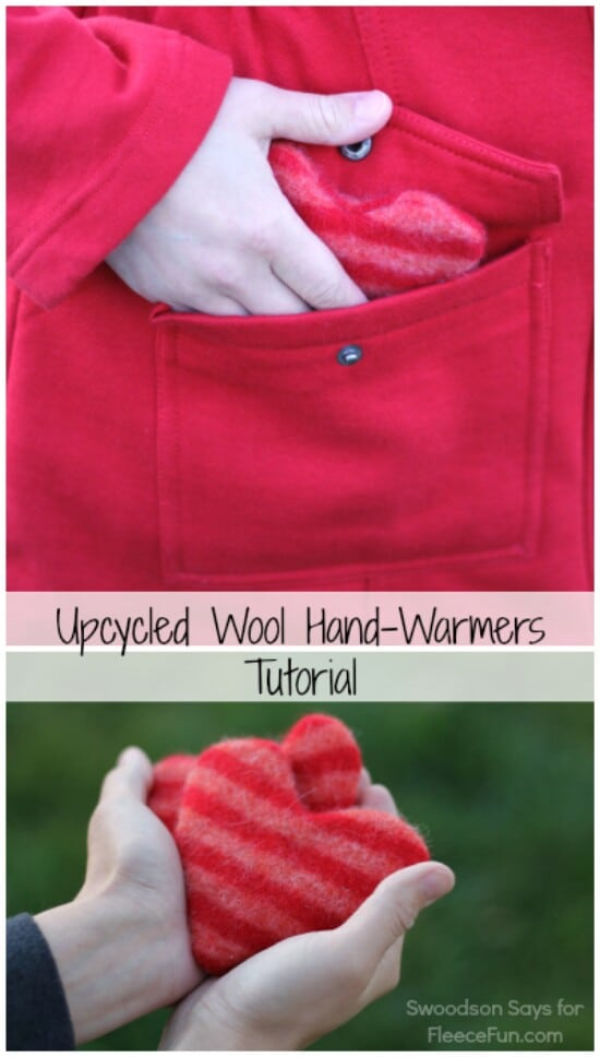 DIY Pocket Warmers - 50 Amazingly Creative Upcycling Projects For Old Sweaters