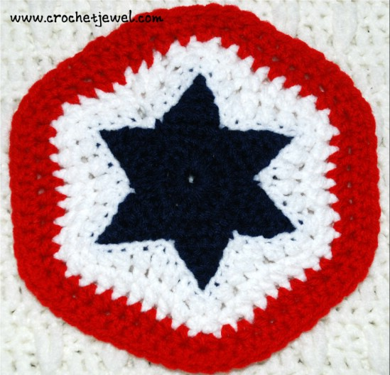 Easy DIY Fourth Of July Potholder