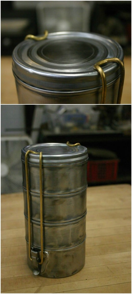 Tuna Can Tiffin Box - 20 Frugally Genius Ways To Upcycle Empty Tuna Cans
