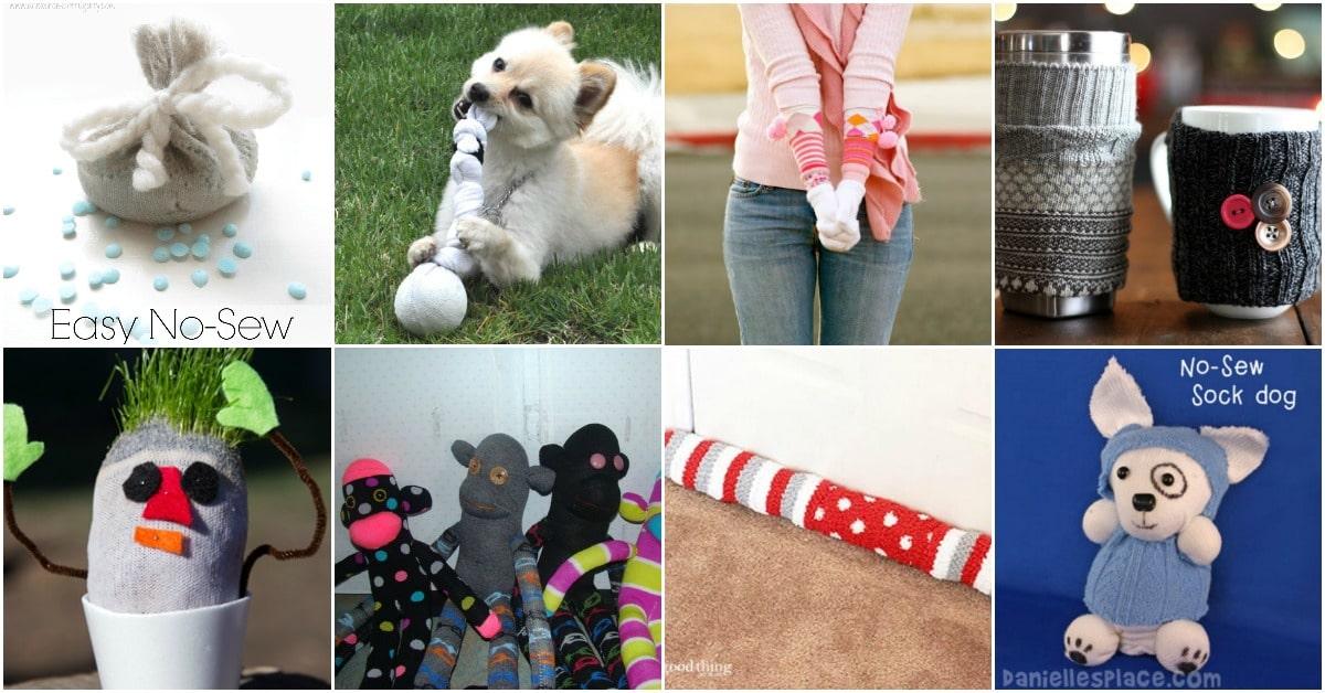 9cc93f0cc 30 Brilliantly Frugal Ways To Use Old Mismatched Socks - DIY   Crafts