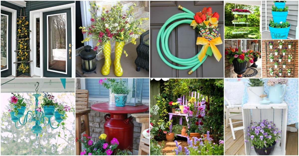 25 Creative DIY Spring Porch Decorating Ideas – It\'s All ...