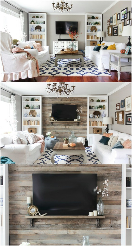 Build a Wood Pallet Accent Wall