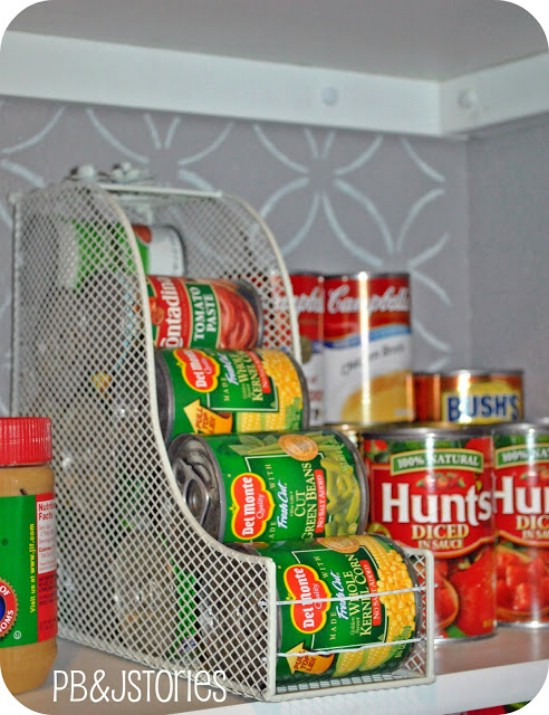 DIY Quick And Easy Pantry Organizers