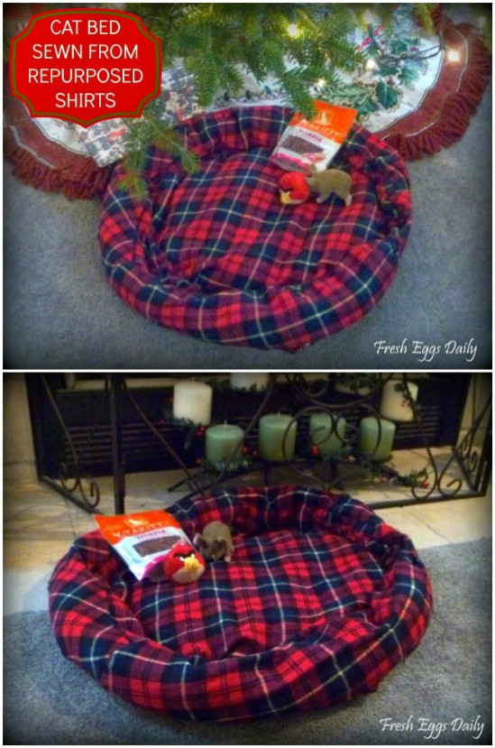 Easy DIY Flannel Pet Bed