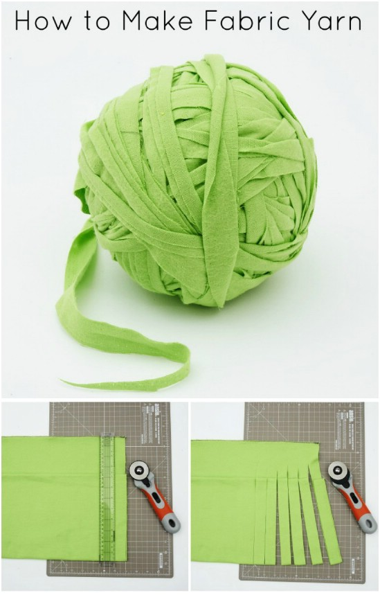 DIY Fabric Yarn
