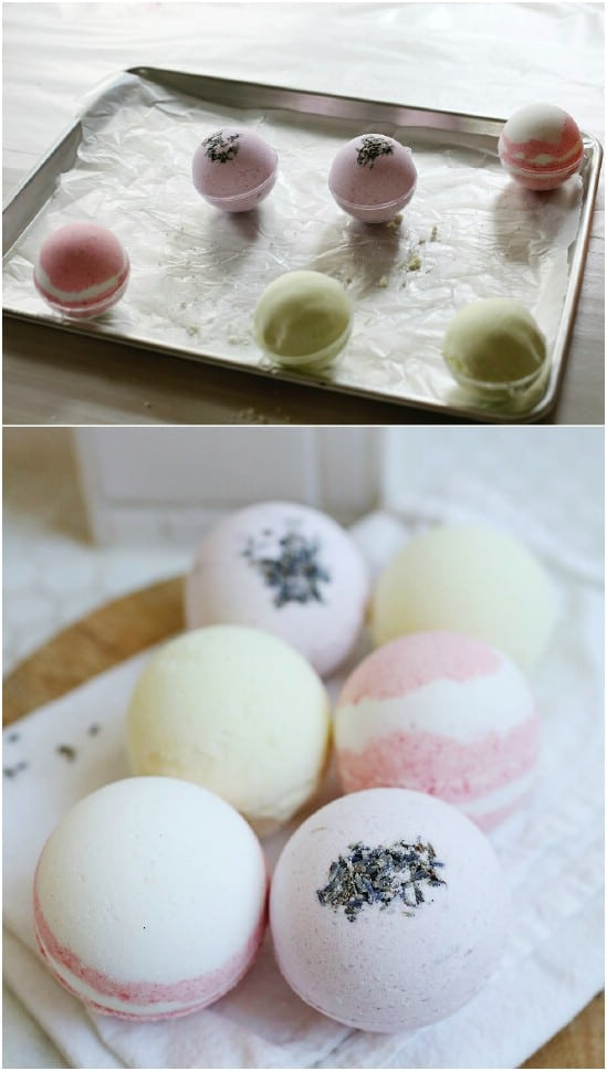 Homemade Musk Oil Bath Bombs