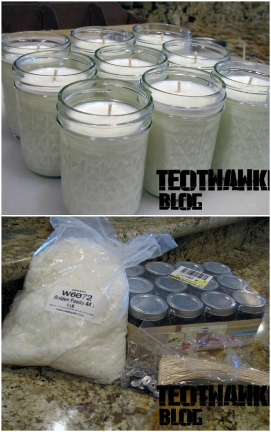 DIY Survival Candles