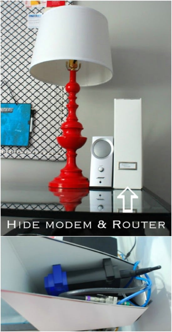 Easy Wireless Router Hider