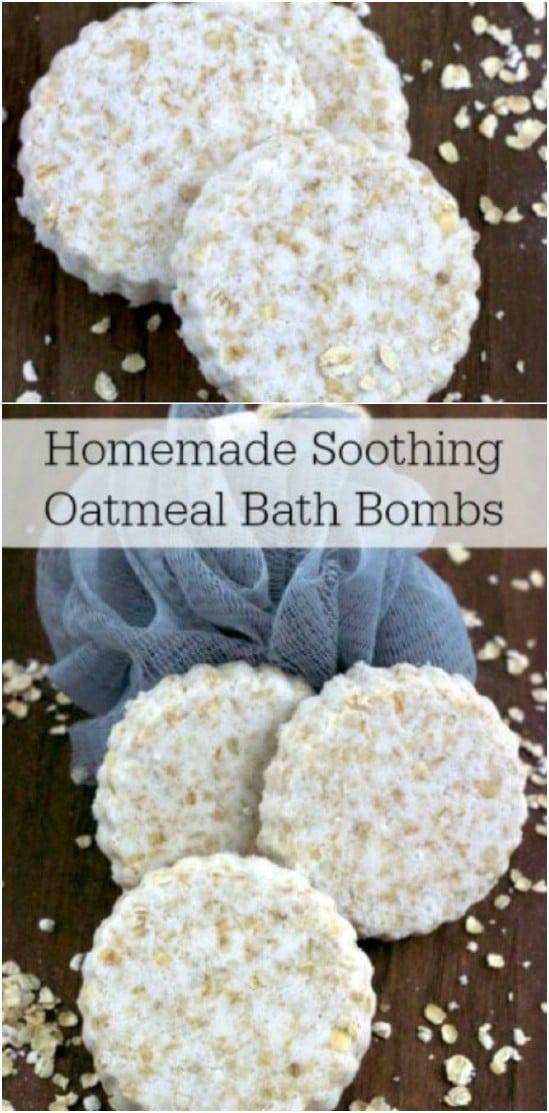 Plain Oatmeal Bath Bombs