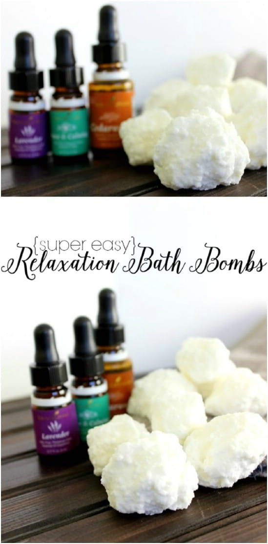 Easy DIY Relaxation Bath Bombs