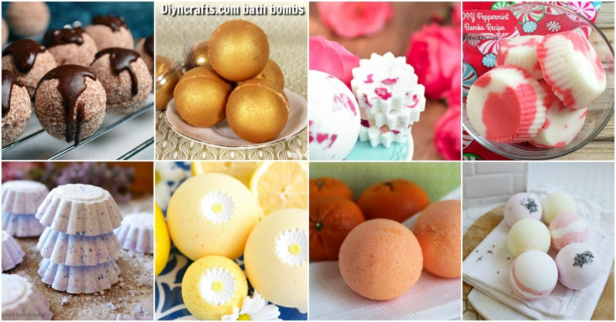 30 Easy Homemade Bath Bomb Recipes For A Relaxing Spa-Like