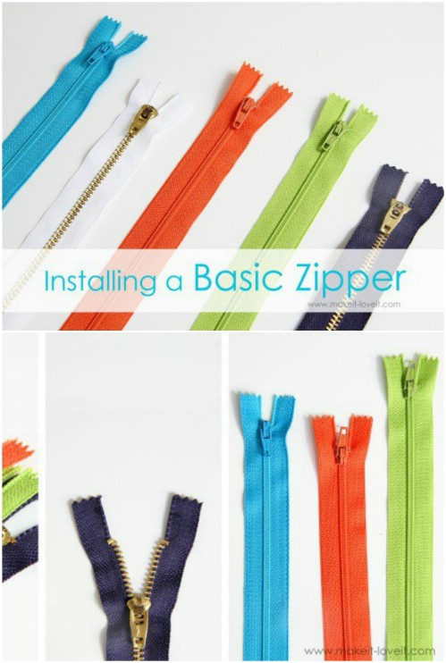 Sew A Basic Zipper