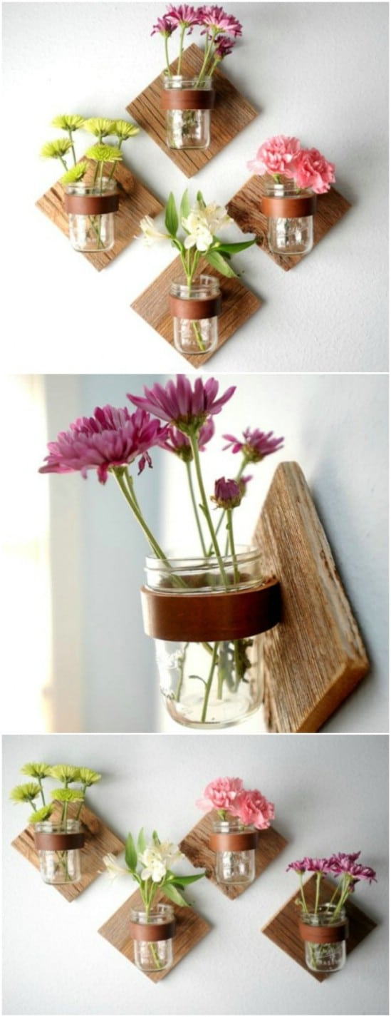 50 Brilliantly Decorative Mason Jar Home Decorating Projects Diy Crafts