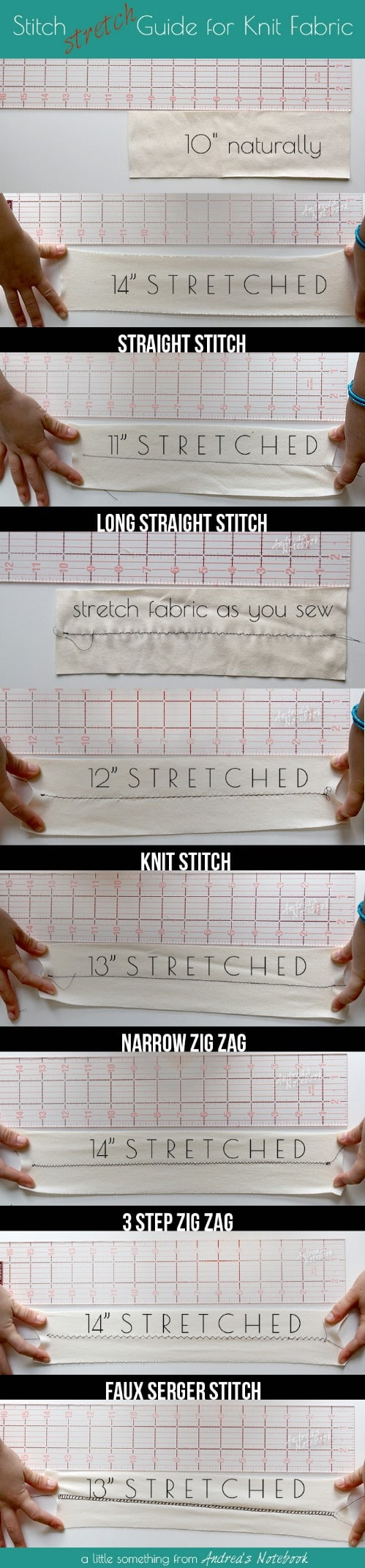 Sew Knit Fabric On Your Machine