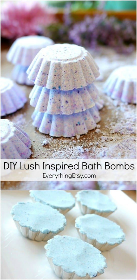 DIY Lush Inspired Bath Bombs