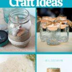 Mason jar crafts collage