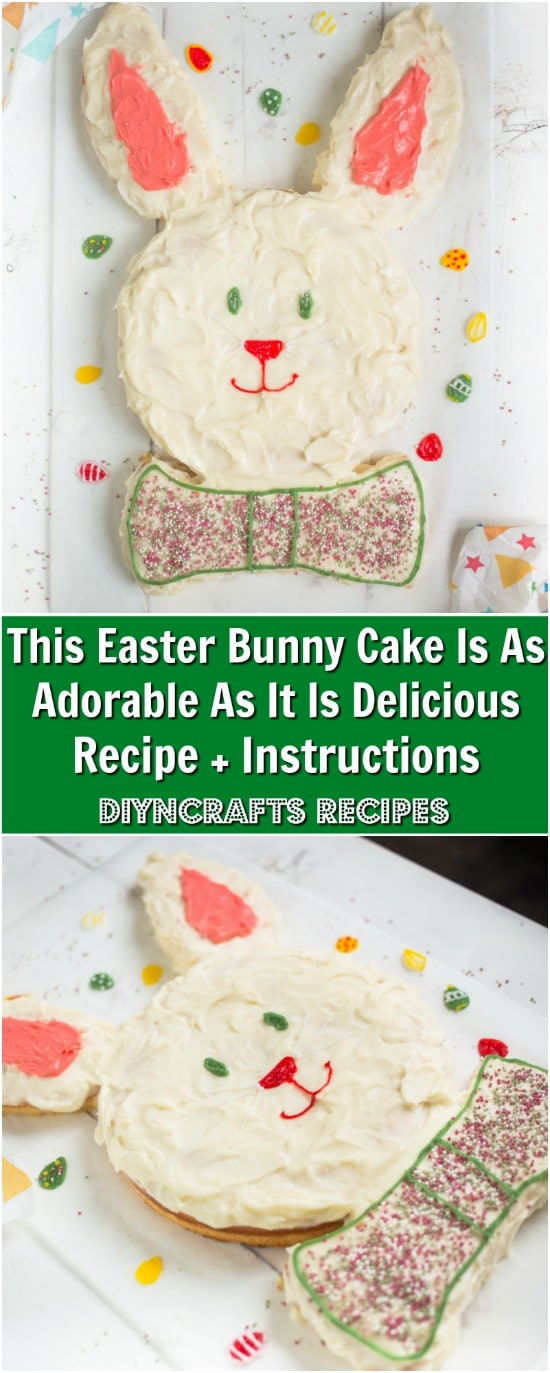 This Easter Bunny Cake Is As Adorable As It Is Delicious Recipe