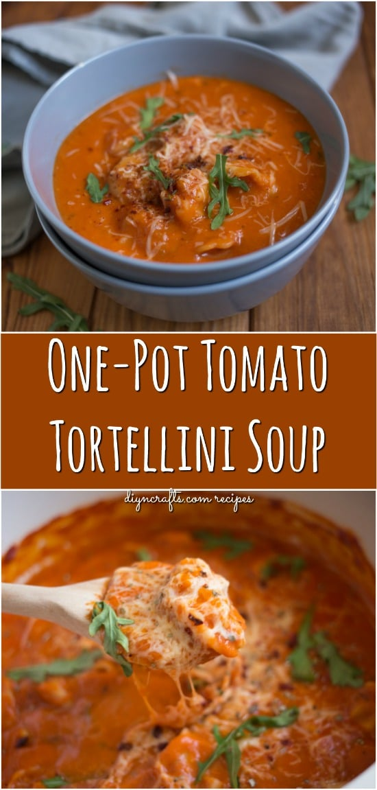 This Easy One-Pot Tomato Tortellini Soup Is Perfect For Busy Weeknights