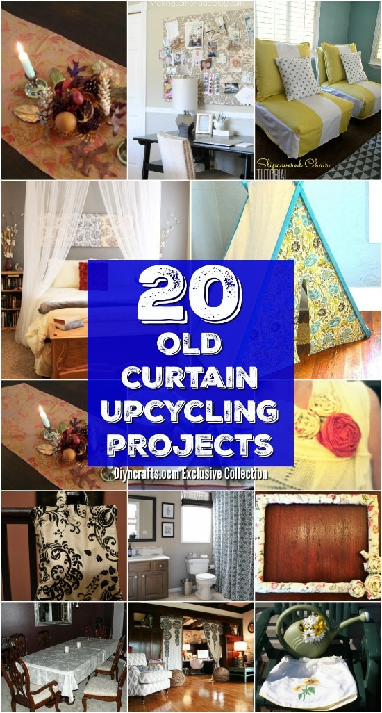 20 Repurposing Ideas To Make Good Use Of Old Curtains {Brilliant ideas!}