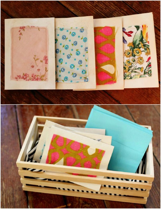 Create handmade stationary.