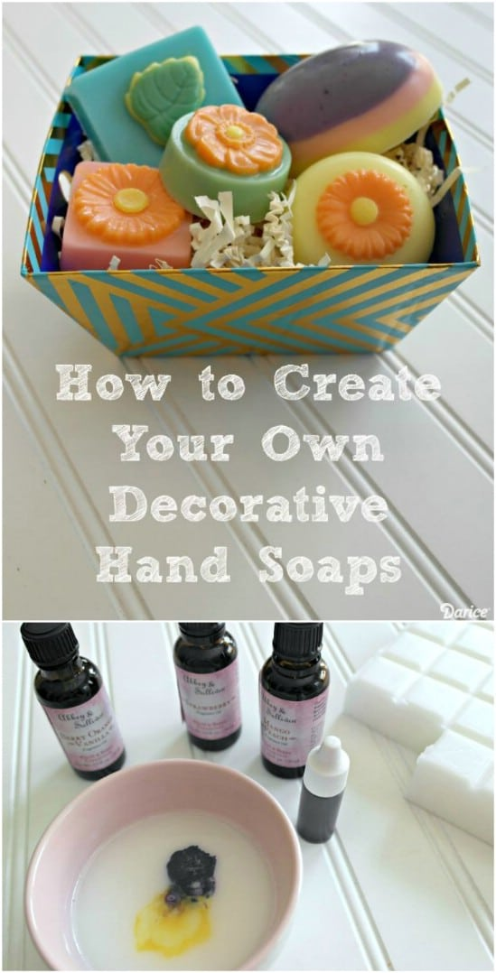 Give the gift of decorative hand soaps.
