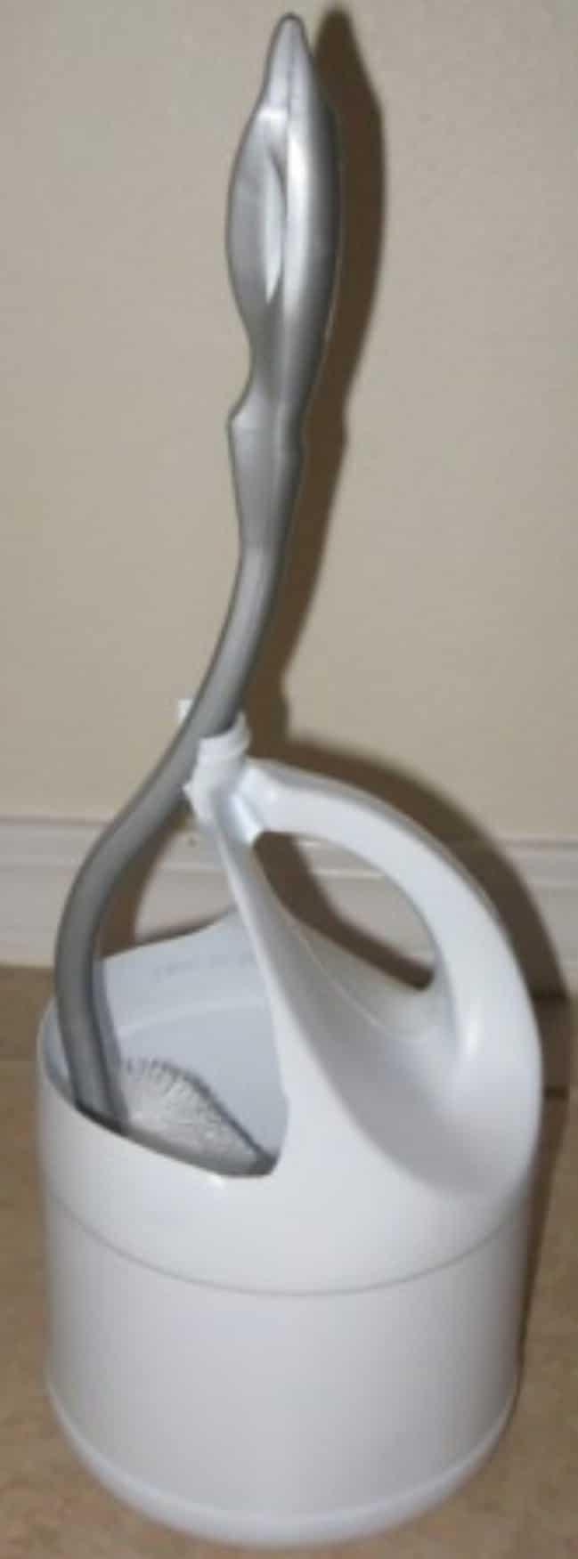 Recycled Detergent Bottle Toilet Brush Holder