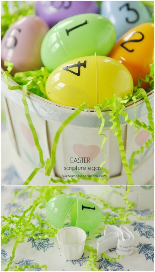 Easter Scripture Eggs