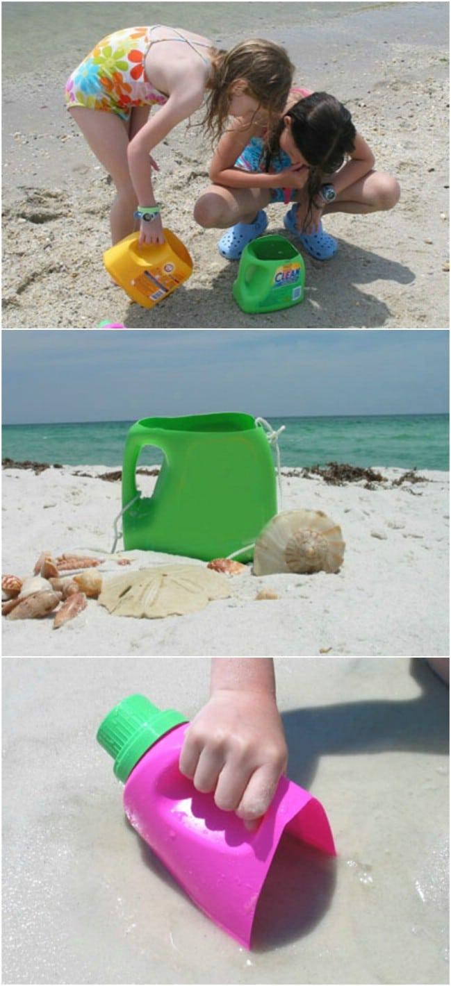 Easy DIY Beach Bucket